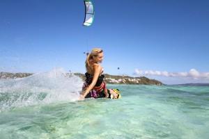 Mauritius kitesurfing photo