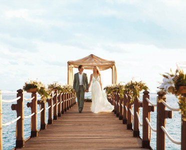 wedding couple in Mauritius